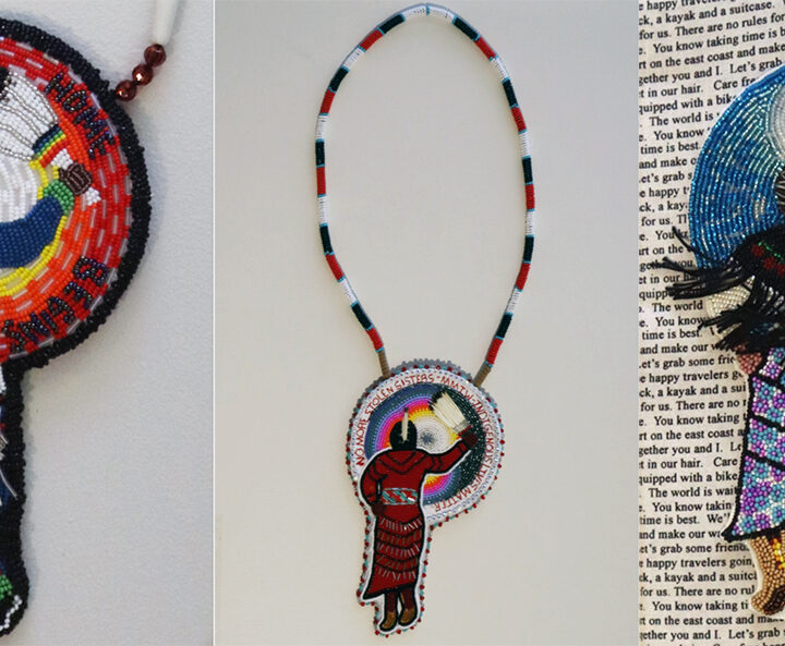 Not just pretty to look at: Beading project promotes prayer and healing during the pandemic